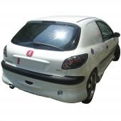 Peugeot 206 Büyük Model Arka Karlık (Boyalı)