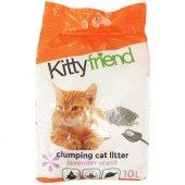 Kitty Friend Topaklaşan Lavantalı Kedi Kumu 10 Lt
