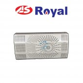 As Royal Duvar Tipi Fanlı Hermetik Soba Dt11000 F