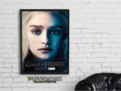 Game Of Thrones Khaleesi Dizi Afişi & Kanvas Tablo