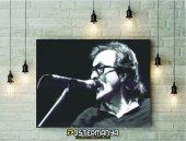 Cem Karaca Siyah Beyaz Kanvas Tablo & Poster