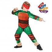 Ninja Turtles Klasik Kostüm 3 4 Yaş