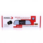 Wondex Wd 505 Dikiz Aynası Monitörü + Geri Vites Kamerası 5 İnç