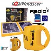 Powermaster Güneş Enerjili Kamp Seti