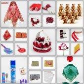 1001 Parça Klasik Hürrem Kına Seti 7 Renk Kına Gecesi Malzemeleri