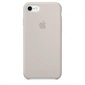 Apple Orijinal İphone 7 8 Taş Rengi Silikon Kılıf