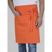 ön Önlük Mutfak Garson Aşçı İş Önlüğü Unisex Cepli Belden Bağlama