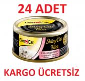 Gimcat Shinycat Fileto Öğünlük Kedi Konservesi Tavuklu 70grm