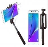 Samsung Galaxy Note 4 Kulaklık Girişli Selfie Özçekim Çubuğu