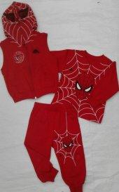 örümcek Adam Spiderman Çocuk Kostümü Eşofman Takımı