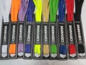 Converse 120 Cm , 10 Adet Farklı Renk Ve Desenlerde Bağcık