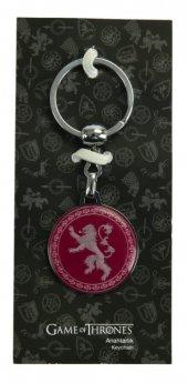 Game Of Thrones Kırmızı Anahtarlık Lannıster