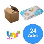 Uni Baby Uni Wipes Islak Havlu 24lü Fırsat Paketi (1440 Yaprak)