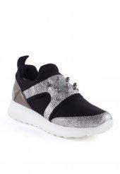 Brando Gümüş Taşlı Bayan Spor Ayakkabı