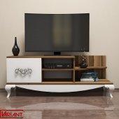 Variant Sultan Tv Sehpası Tv Ünitesi (Ceviz Beyaz)