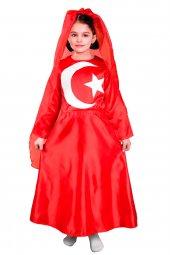 Türk Bayrağı Kostüm (Kız Çocuk)