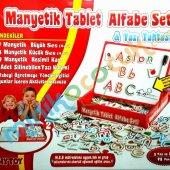 Manyetik Tablet Alfabe(4 6yas)