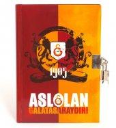 Galatasaray 6302 14x20 Hatıra Defteri Kilitli