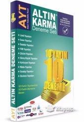 Ayt Deneme Seti 10 Farklı Yayın 10 Farklı Deneme Altın Karma