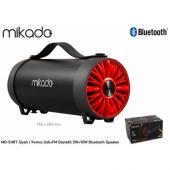 Mıkado Md 54bt Fm+usb 3w+10w Bluetooth Speaker (K)