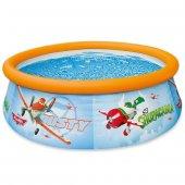 Intex Disney Planes Desenli Şişme Çocuk Havuzu 183x51 Cm