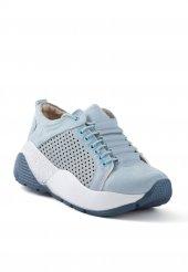 Elenore Açık Mavi Bağcıklı Unısex Ayakkabı