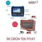 Multibox Mb 5000 Uydu Yön Bulucu Mb120 Kamera Test Cihazı Hediye