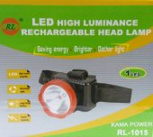 Rl 1015 Şarjlı Kafa Feneri Projektör 1w