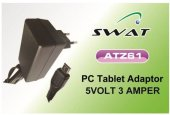 Swat 5v 3a Universal Tablet Pc Adaptörü Micro 5pinli