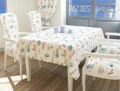 Renkli Latte Dikdörtgen Masa Örtüsü