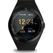 Sim Kartlı Y1 Ips Ekran İos Android Uyumlu Kameralı Akıllı Saat