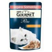Gourmet Perle Izgara Somonlu Yetişkin Kedi Konservesi 85 Gr