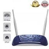 Tp Lınk Td W8960n 300mbps 4 Port Kablosuz 10 Vpn Adsl2+ Modem 2x5