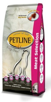 Petline Cat Premium Kedi Maması Meat Selection 15 Kg(Net)