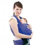 Sevibebe Bebek Taşıma Şalı Mavi