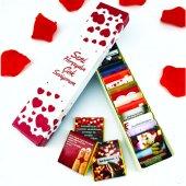 Sevgilinize Romantik Mesajlı Çikolatalar