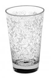 Joy Glass 6 Lı Şal Desen Meşrubat Bardağı