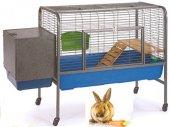 Tavşan Kafesi Sehpalı Yuvalı 132x57x90