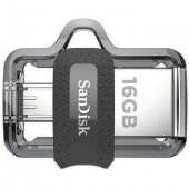 16 Gb Flash Bellek Sandisk Ultra Otg Dual Drive 3.0