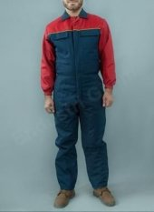 Soğuk Hava Tulumu İçi Kapitoneli Su İtici İş Tulumu İş Elbiseleri