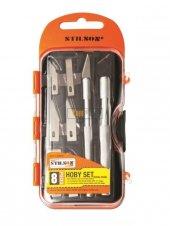 Stilson Hoby Maket Bıçağı Seti 8 Parça