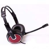 Snopy Sn 791 Mikrofonlu Kulaklık Bordo