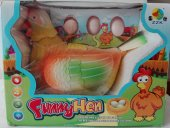 Yumurtlayan Tavuk Funny Hen Işıklı Sesli Yumurta Bırakan Tavuk