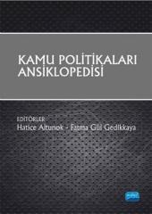 Kamu Politikaları Ansiklopedisi Kollektif Nobel Yayın Dağıtım