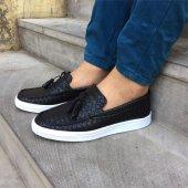 Siyah Renk Casual Ayakkabı