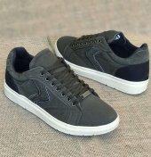 Masst Coton 0707 Haki Siyah Günlük Ayakkabı