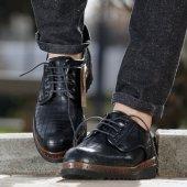 Conteyner 771 Karayel Siyah Casual Erkek Ayakkabı