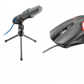 Trust 20378 Mico Usb Mikrofon Ve Gamig Mouse