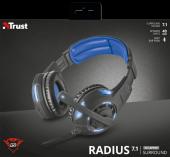 Trust 22052 Gxt350 Aydınlatmalı Surround 7.1 Oyuncu Kulaklığı