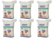 Bebedor Bebek Temizleme Pamuğu 6 Paket 6x60 360 Adet